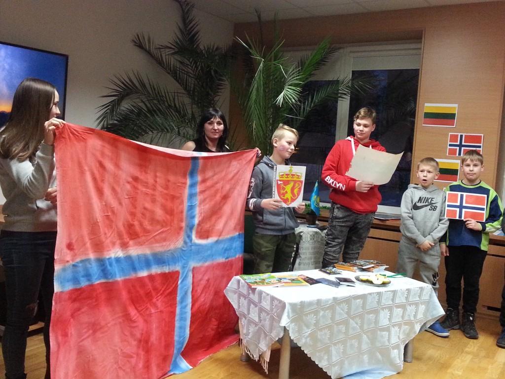 Kauno jaun turist c Norvegija